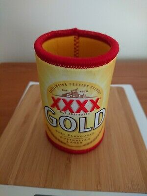 Xxxx Gold Beer Lager Stubby/Can Holder