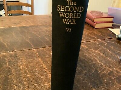 Winston Churchill Triumph And Tragedy. The Second World War V1 By Cassell