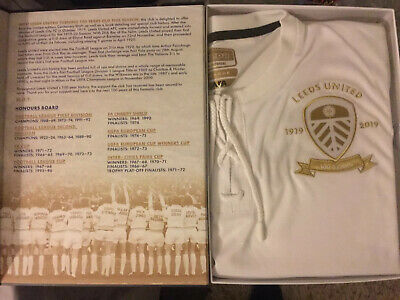 LEEDS UNITED CENTENARY SHIRT AND BOOK CAN DELIVER - Only 1919 Made