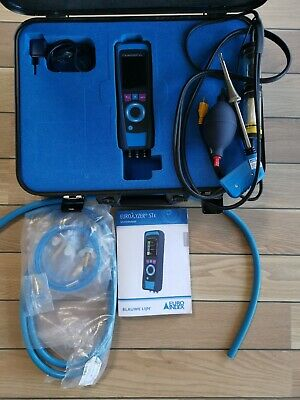 Flue gas analyser EUROLYZER STx comes with full kit!! RRP 1450  cheap! max1