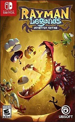 Rayman Legends - SWITCH neuf sous blister IMPORT