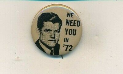 1980 Edward Kennedy FOR PRESIDENT Campaign Button 4074