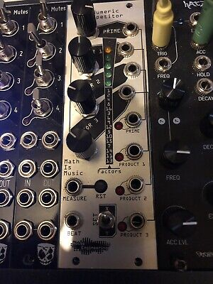 Noise Engineering Numeric Repetitor Eurorack Gate Sequencer Module