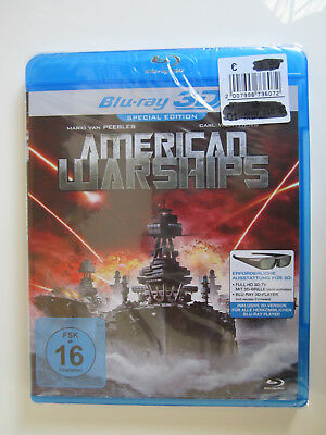American Warships - 3D + 2D Special Edition - Blu Ray - NEU&OVP