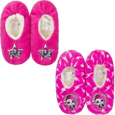 New LOL Surprise Girls Slippers Warm Comfy Children Size 7-13 UK  25-32 EU