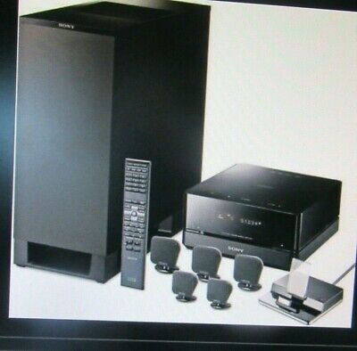 Sony DAV-IS10 5.1-Channel Micro Satellite Home Theater System - FOR PICK UP ONLY