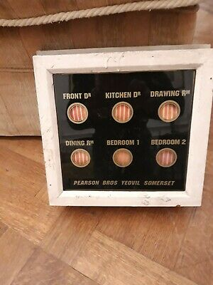 Servants or Butlers 6 way bell box