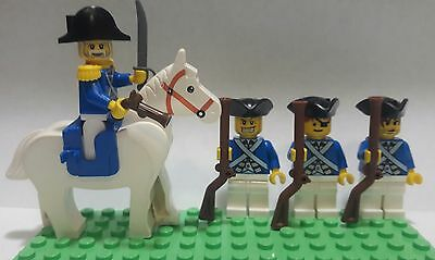 LEGO® brick AMERICAN REVOLUTION custom American Infantry Minifigure Version 5