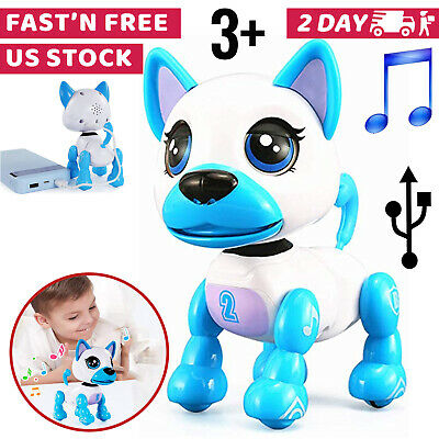 Toys For Girls Kids Children Robot Pet Puppy for 3 4 5 6 7 8 9 10 Years Olds Age