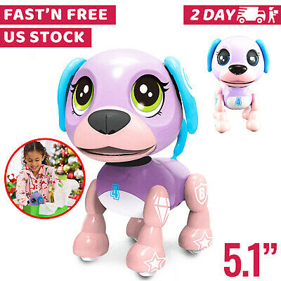 Toys For Girls Kids Children Smart Robot Dog for 3 4 5 6 7 8 9 10 Years Olds Age