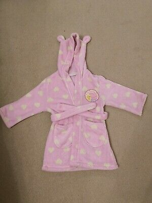 Peppa Pig Dressing Gown Pink Age 3-4