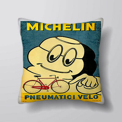 michelin man Printed Cushion Covers Pillow Cases Home Decor or Inner