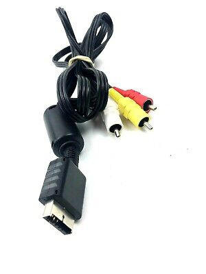 OEM Sony Playstation PS1 PS2 PS3 S Video Cable Cord Official Genuine Fast Ship!