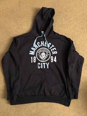 Manchester City Mens Hoodie Size L Large Official Football Merchandise