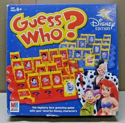 2005 Guess Who Game - Disney Edition