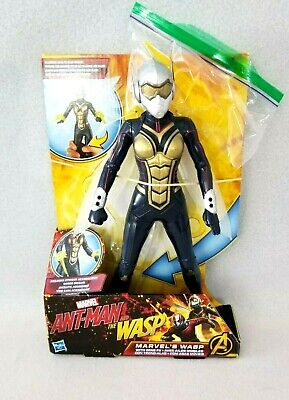 "The Wasp  12""  Ant-Man & The Wasp Movie  2017  Marvel Avengers Action Figure"