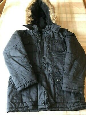Lovely Black waterproof jacket by Marks & Spencers age 11-12