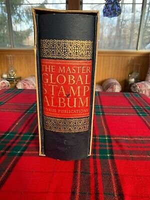 The Master Global Stamp Album Minkus Publication with hundreds of Stamps 700+pgs