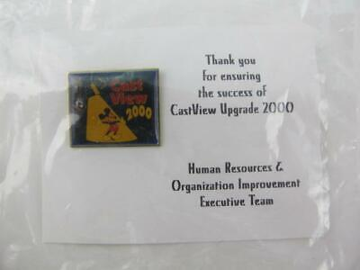 Disney Human Resources Cast Member Cast View 2000 Training Award SEALED Pin