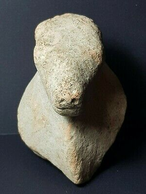 Ancient rare indus valley mohenjo daro  harrapa  terracotta cow head