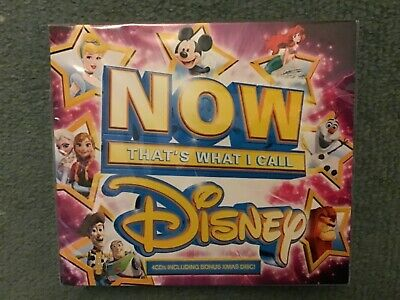 Now That`s What I Call Disney 4CD Frozen Princess Christmas New & Sealed
