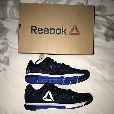 Reebok Men's Speed TR Flexweave Blue/Navy/White Training Shoes Size 10