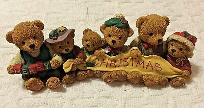 Merry Christmas Teddy Bear - Figurine Statues - Christmas