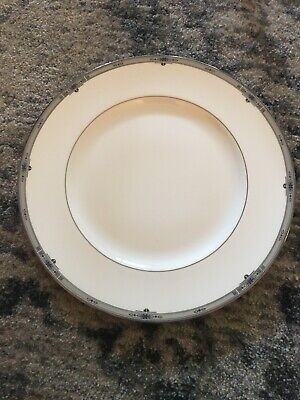 """New Wedgwood AMHERST 10 3/4"""" Dinner Plate Plates BONE CHINA ENGLAND Numbered 169"""