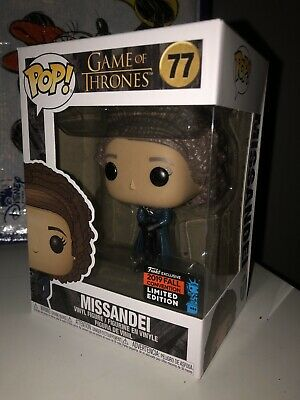 Funko Pop! Game Of Thrones Missandei 77 NYCC Exclusive