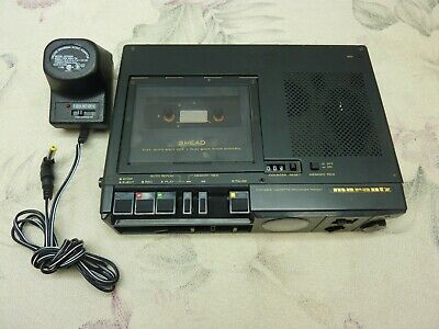 Marantz Model PMD221 Professional 3 Head Portable Cassette Tape Recorder