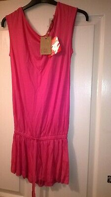 BNWT Love Label Pink Sleeveless Playsuit Size 8