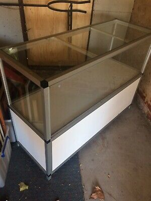 Glass Display Cabinet Or Shop Counter Retail Showroom Business