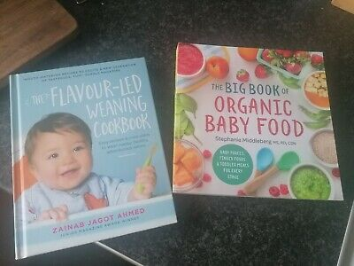 Baby Weaning Recipe Books: flavour led weaning and organic