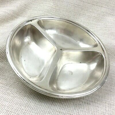Mappin Webb Silver Plate Serving Bowl Orient Line Steam Ship Company Ocean Liner