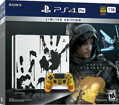 Brand New Sony PS 4 Pro 1TB Console with Death Stranding Video Game Bundle