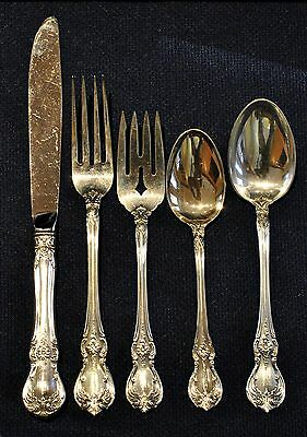 Old Master By Towle Sterling Flatware Set For 8 People 5 Pieces Per Setting