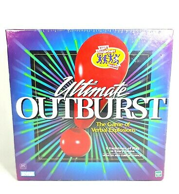 Hasbro Ultimate Outburst Game of Verbal Explosions by Parker Brothers 1999 Editi