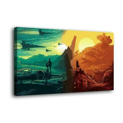 "16""x30""Star Wars Paintings HD Print on Canvas Home Decor Wall Art Pictures poste"