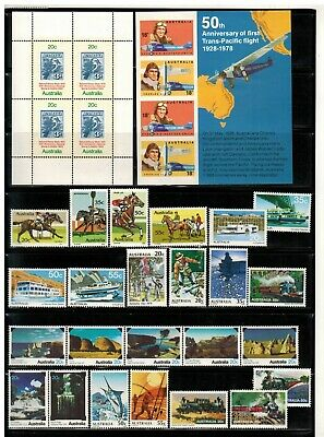 Lot of Australia Old Stamps MNH--