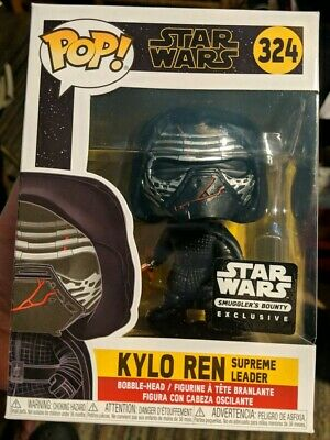 Funko Pop! Kylo Ren Supreme Leader Smugglers Bounty Exclusive Star Wars New 324