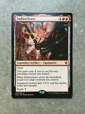MTG Magic The Gathering Embercleave 120/269 Throne of Eldraine Mythic Rare MINT