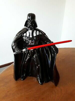 Star Wars Darth Vader Figure Limited Numbered Ceramic Cookie Jar NEW UNUSED