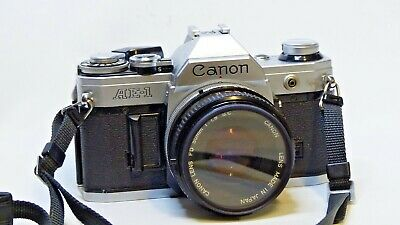 Canon AE-1 AE1 film camera with 50mm f1.8 lens