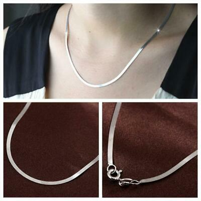 Punk Women Men Unisex Fashion Snake Necklace Chain Silver Plated Pendant