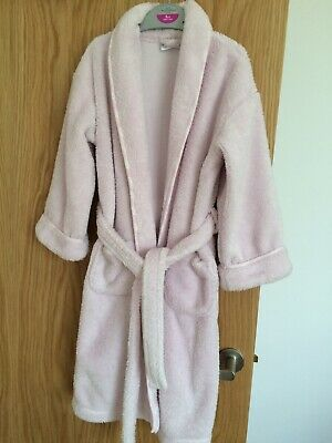 Girls age 5-6 The Little White Co. dressing gown