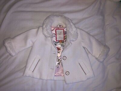 Ted Baker Baby Girls Coat/Jacket Age 0-3 Months Beautiful