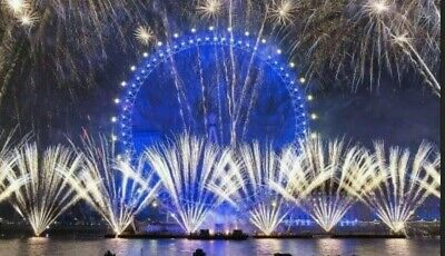 London New Year Firework Tickets 2019 - Entrance 1 Blue , 7 available!