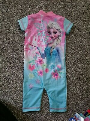 Frozen Age 12-18 Swimwear All In One