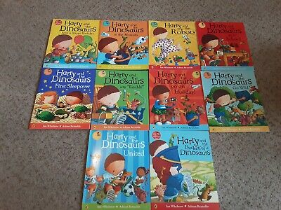 Harry And The Dinosaurs 10 Book Story Collection