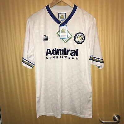Leeds United Home Shirt 1992-1993. Size Medium. Admiral. Brand New With Tags